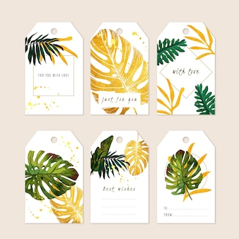 Modern ornamental for you general gift tag