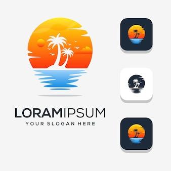 Современный дизайн логотипа ладони