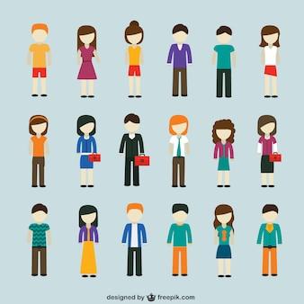 현대 사람들 아이콘