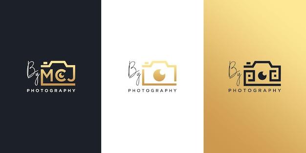 Modern photography logo collection