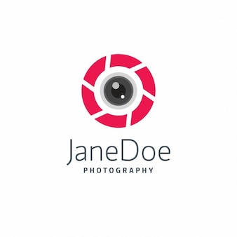 Modern photography logo template