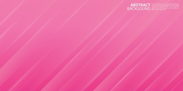 Modern pink abstract background with shiny lines