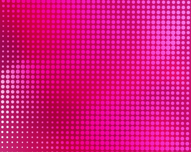 Modern pink abstract halftone background