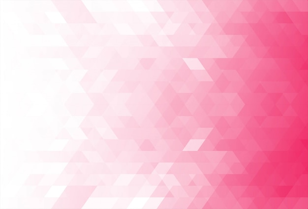 Modern pink geometric shapes background