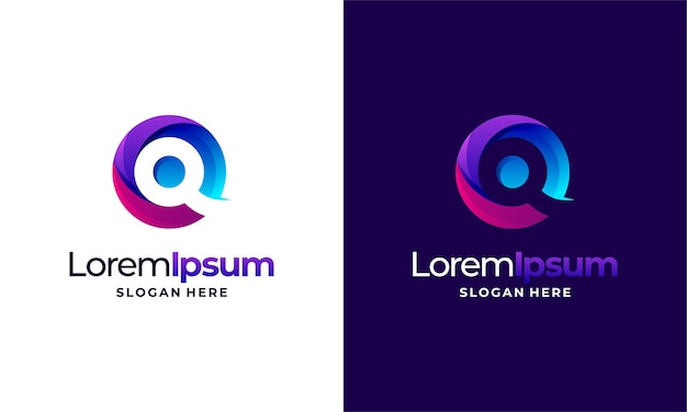 Modern pixel technology logo designs concept vector, network internet logo symbol