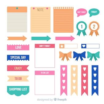 Set di elementi di pianificazione moderna