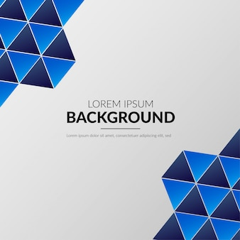 Modern polygonal business background