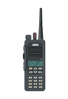 Modern portable handheld radio device