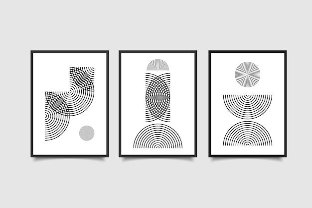 現代のポスター抽象的な現代的な壁の装飾
