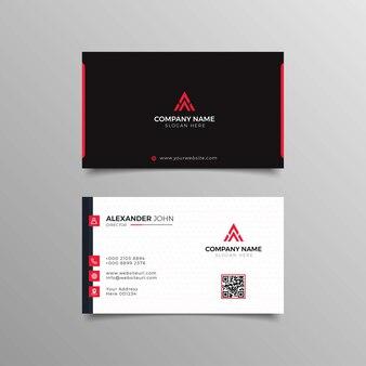 Современный профессиональный дизайн визиток