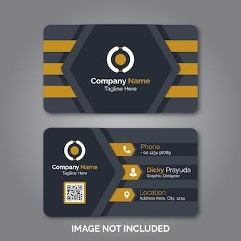 Modern professional business card