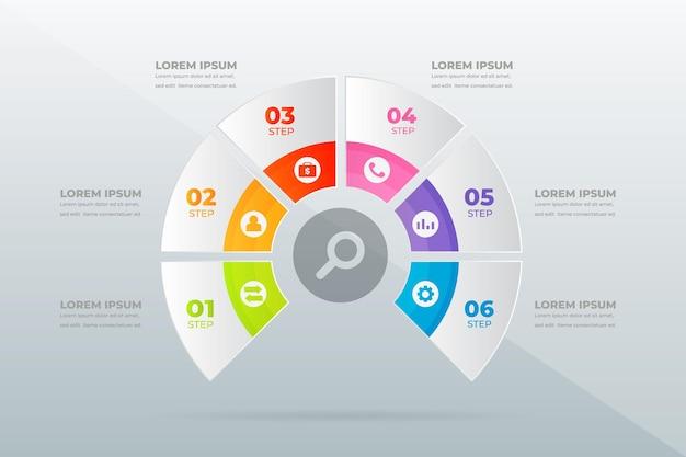 Современные профессиональные шаги инфографики