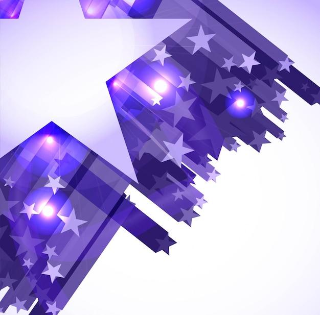 現代の星の背景