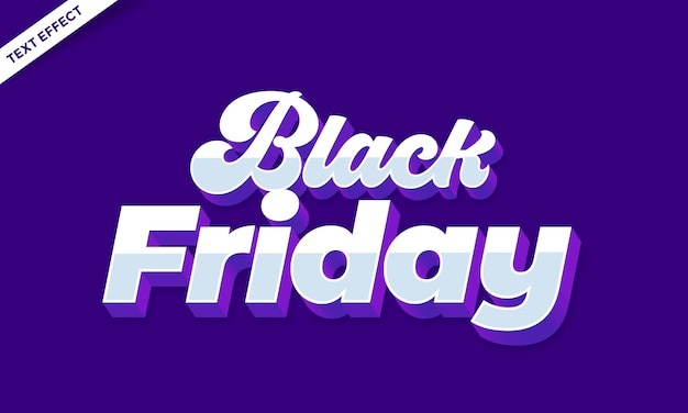 Modern purple and white bold text effect or font effect design