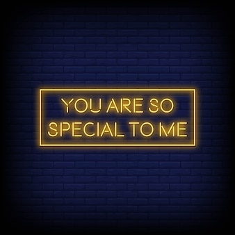 Modern quote inspiration neon signs