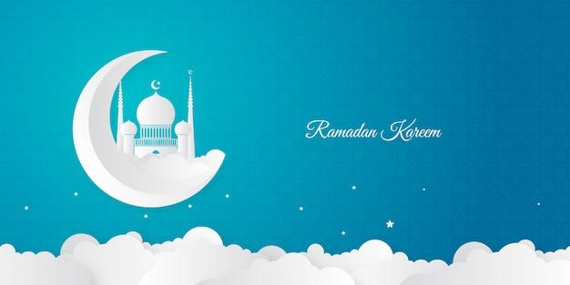 Modern ramadan kareem background