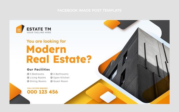 Шаблон facebook для современной недвижимости