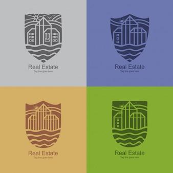 Modern real estate logotypes