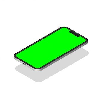 Modern realistic mobile phone