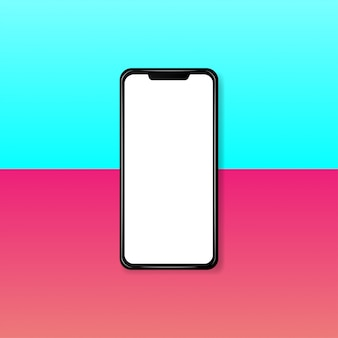 Modern realistic smartphone Premium Vector