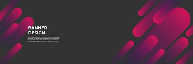 モダンな赤いバナーの背景。ベクトル抽象的なグラフィックデザインバナーパターン背景テンプレート。