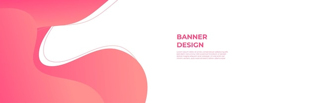 Modern red banner background. vector abstract graphic design banner pattern background template.