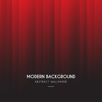 Modern red degrade background