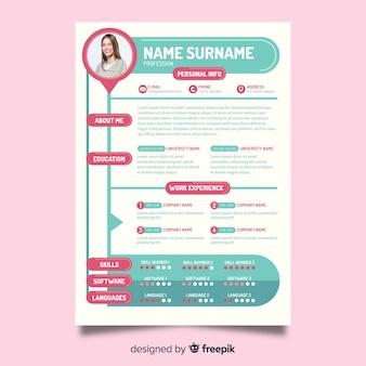 Modern resume template