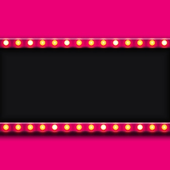 Modern retro billboard background with place for your text .