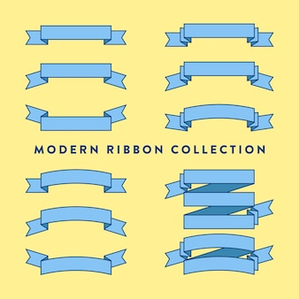 Modern ribbon collection