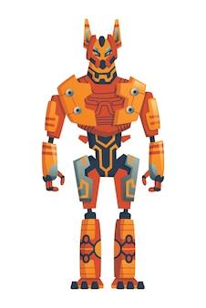 Modern robot concept illustration