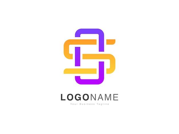 最新のsosおよびsoの頭文字のロゴデザイン