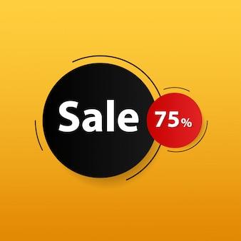 Modern sale banner