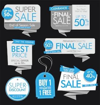 Современные рекламные баннеры и этикетки