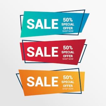 Modern Sales Banner Set