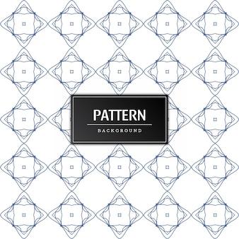 현대 완벽 한 패턴 장식 배경 무료 벡터