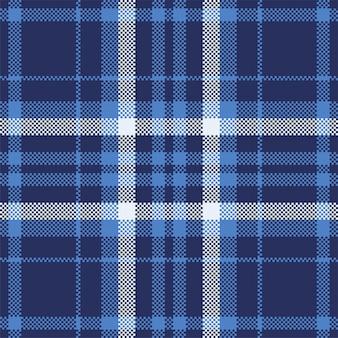 モダンなシームレスパターンの格子縞。正方形のテクスチャ生地。タータンスコットランドの織物。美色マドラス飾り。