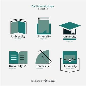 フラットデザインの最新ロゴセット