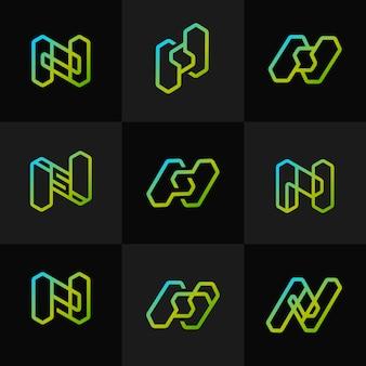 現代の形文字n