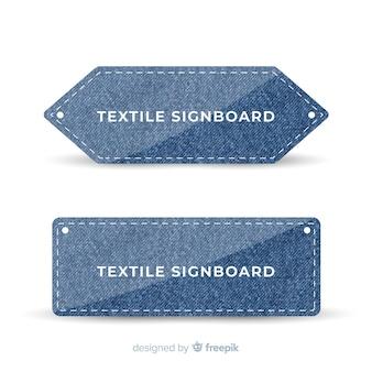 Modern signboard template