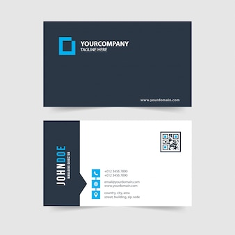 Modern simple business card template collection.vol.96