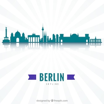 Modern skyline of berlin