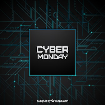Modern software background of cyber ​​monday