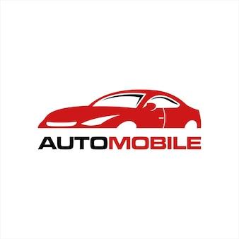 Modern sport car logo vector idea