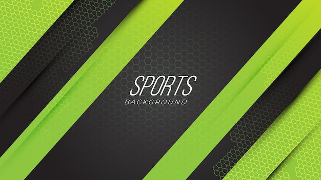 Modern sports neon gaming abstract background with geometric shapes gradient