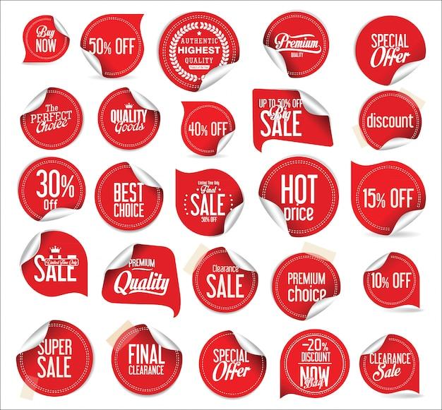 Modern stickers