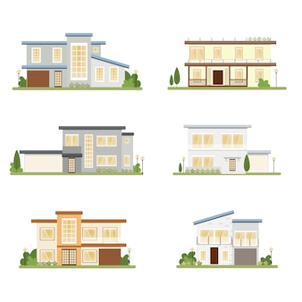 Modern style house collection
