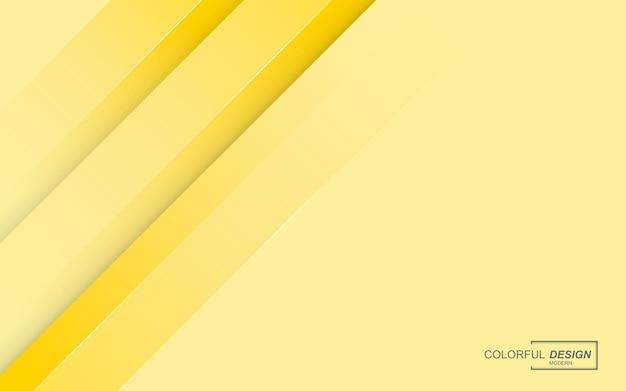 현대적인 세련 된 노란색 배경