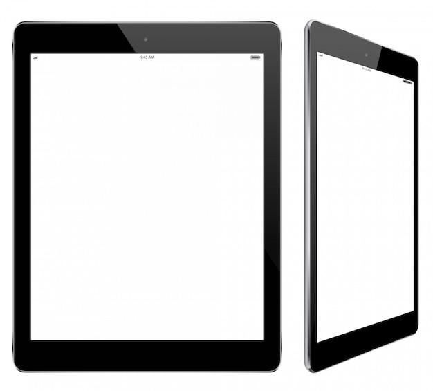 Modern tablet computer template