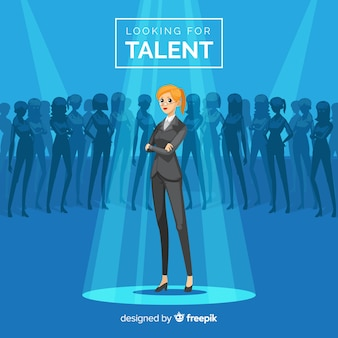 Modern talent search composition